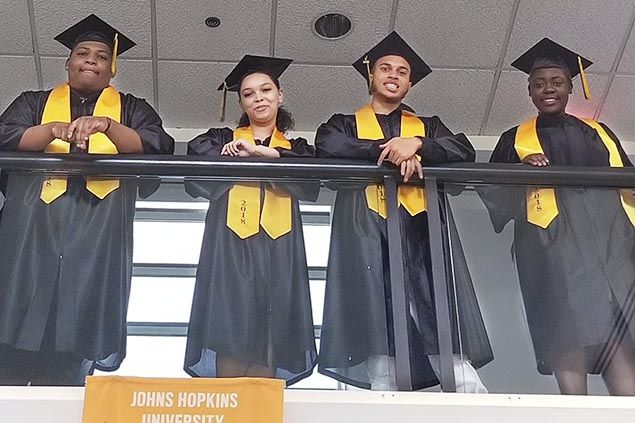Photo of Foundation Schools graduates